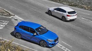 BMW Serie 1, la causa delantera