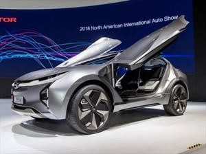 GAC Enverge Concept, un sorprendente concepto Made in China