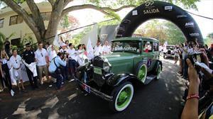 Etapa 1: Uxmal a Merida, más de 100 clásicos tomaron la salida