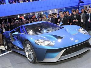 Ford GT es el auto con el mejor diseño del NAIAS 2015