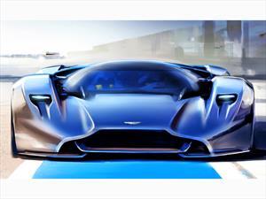 Aston Martin presenta súper deportivo virtual: DP-100
