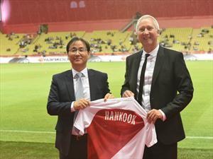 Hankook Tire será el nuevo patrocinador del AS Mónaco de Francia