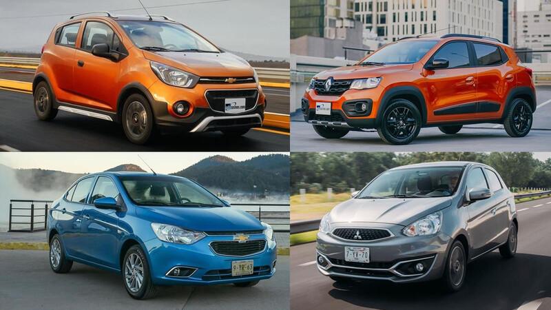 Los 10 autos más baratos para el segundo semestre de 2020