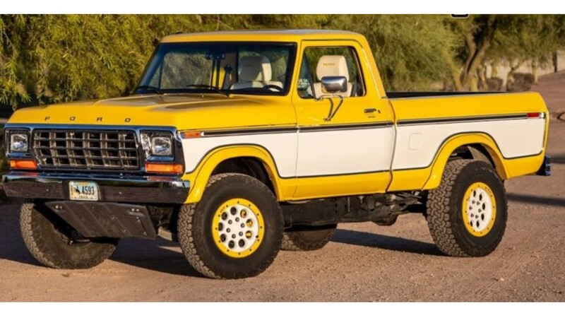 Esta Ford F-150 1979 adopta el motor de la Raptor