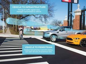 Ford y Qualcomm desarrollan tecnología para comunicar vehículos y semáforos entre sí