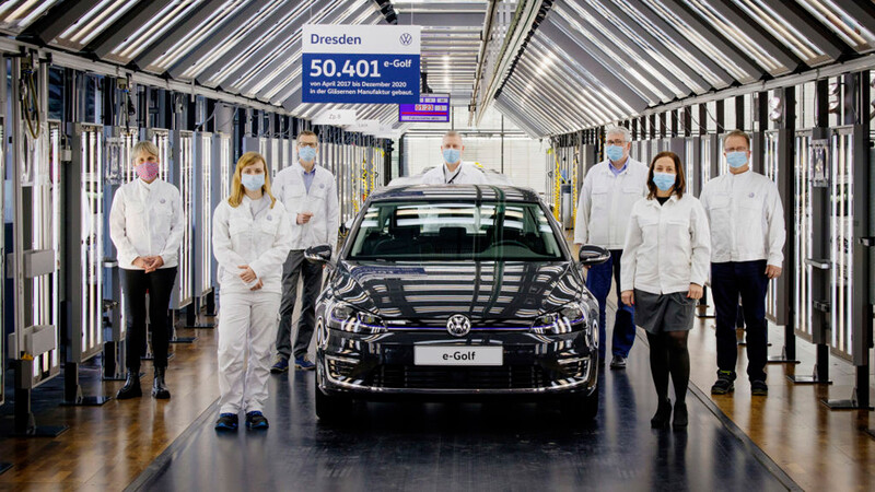 Volkswagen elimina de su línea de producción al eléctrico e-Golf
