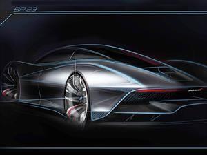 McLaren da un adelanto de su nuevo hiperdeportivo