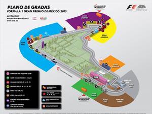 Nuevos boletos para el Gran Premio de México 2015 desde $1,500 pesos
