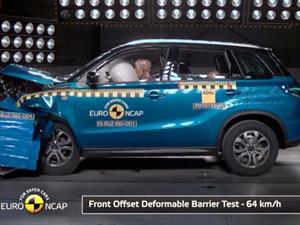 Suzuki Vitara 2015 obtiene 5 estrellas en la Euro NCAP