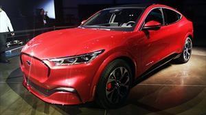 Ford Mustang Mach-E 2021, el deportivo ahora es eléctrico y un SUV