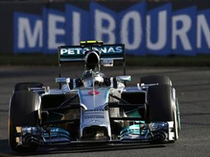 F1: Rosberg y Mercedes-Benz se quedan con el GP de Australia