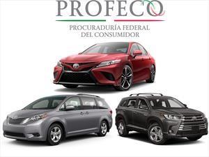 Toyota Camry, Sienna y Highlander son llamados a revisión en México