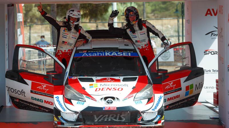 WRC Turquía 2020: Evans aprovechó un final inesperado