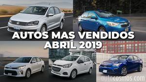 Los 10 autos más vendidos en abril 2019