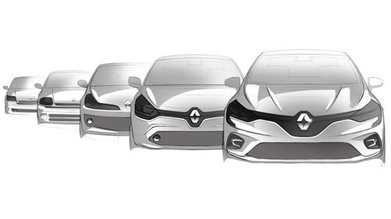 El icónico Renault Clio celebra su 30 aniversario