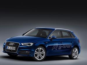 Audi A3 Sportback g-tron impulsado por gas natural comprimido