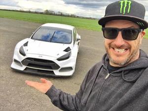 Este es el nuevo Ford Focus RS Rallycross de Ken Block