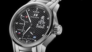 Edox presenta reloj exclusivo para el Dakar