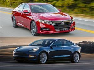 Honda Accord 2018 vs Tesla Model 3 2018, ¿qué tienen en común estos dos sedanes?