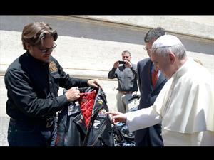 El Papa Francisco ahora tiene dos Harley Davidson