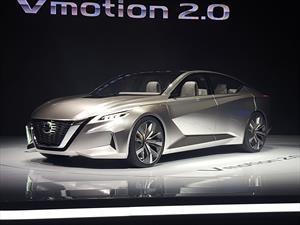 Nissan Vmotion 2.0 Concept, el futuro de los sedanes de la marca