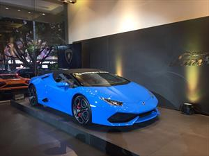 Lamborghini Huracán Spyder se presenta