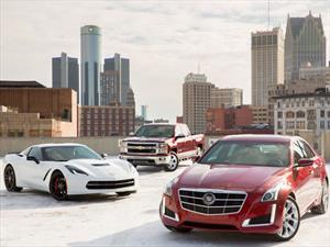 GM vende más de 9.7 millones de vehículos en 2013
