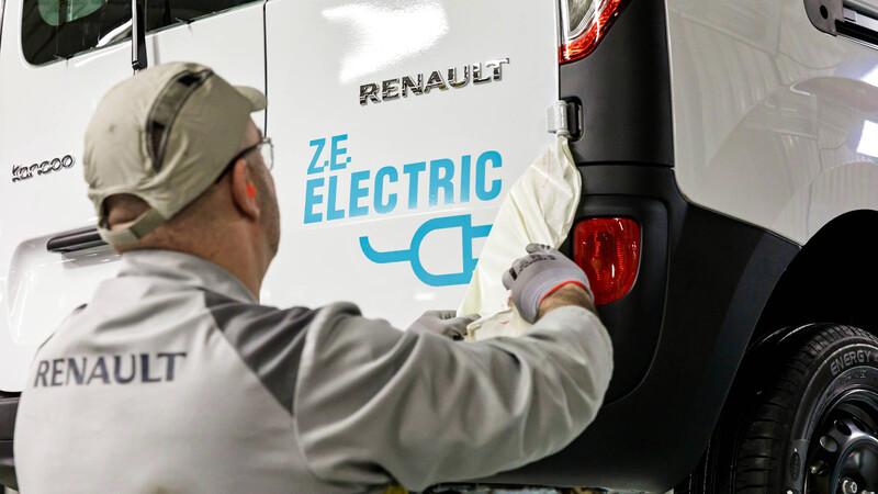 Renault ElectriCity: Solo para autos eléctricos