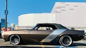 Este Chevrolet Camaro 1969 demuestra que los autos clásicos también pueden ser eléctricos