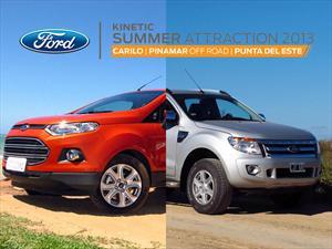 Ford le pone Kinetic Design al Verano 2013