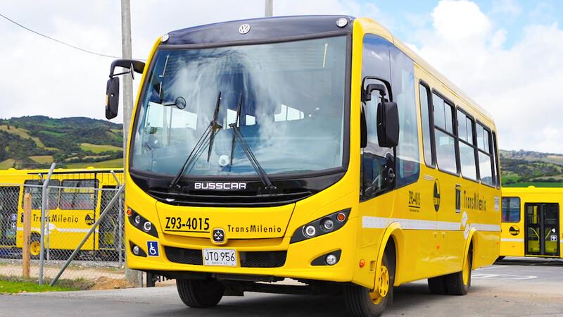 Volkswagen ingresa al sistema Transmilenio con 28 buses Euro VI