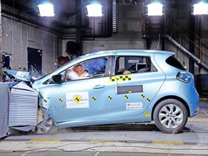 Renault ZOE: Vehículo 100% eléctrico recibe máxima calificación en seguridad