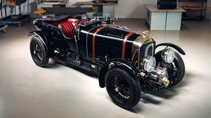 Bentley Blower Continuation, replica exacta al original que cumple 90 años