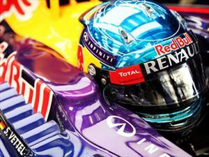 Sebastian Vettel es el protagonista de la nueva campaña de TOTAL