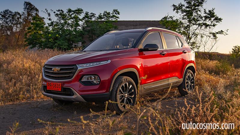 Chevrolet Groove 2021, primer contacto, manejamos la hermana menor de la Tracker