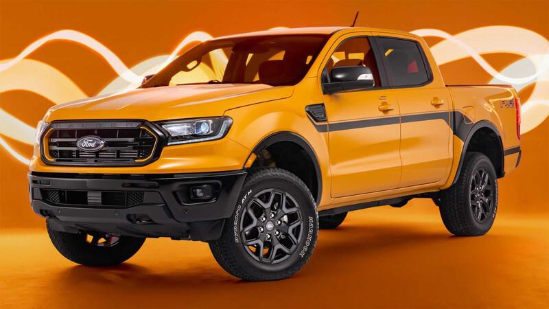 Ford Ranger Splash ¿Te comprarías una pickup así de llamativa?