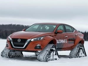 Nissan Altima-te AWD, un sedán mutante para la nieve