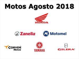 Top 10: Las marcas de motos que más vendieron en agosto en Argentina