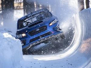 Subaru WRX STi se transforma en un trineo de bobsled