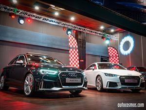 Audi Sport revela en Chile al TT RS y al exclusivo RS3 Sedán