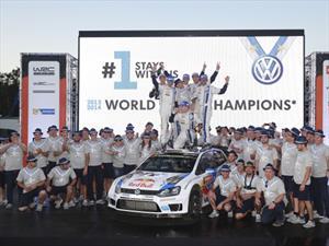 WRC: Volkswagen triunfa en Australia