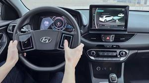 Hyundai anticipa su futuro panel de mandos