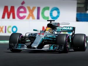 2017 F1: Lewis Hamilton celebra su cuarto campeonato en GP de México