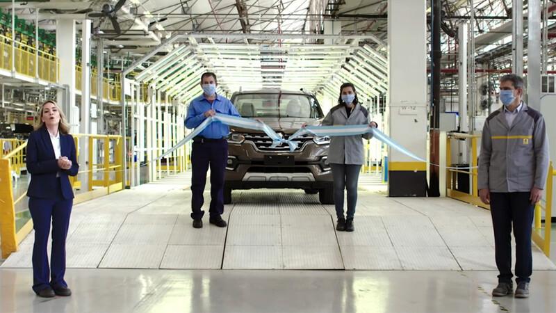 Renault Alaskan lanza la pre venta en Argentina dentro de pocos días