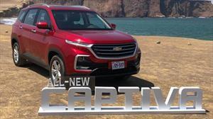 Chevrolet Captiva 2019 en Chile, precios, versiones y equipamiento