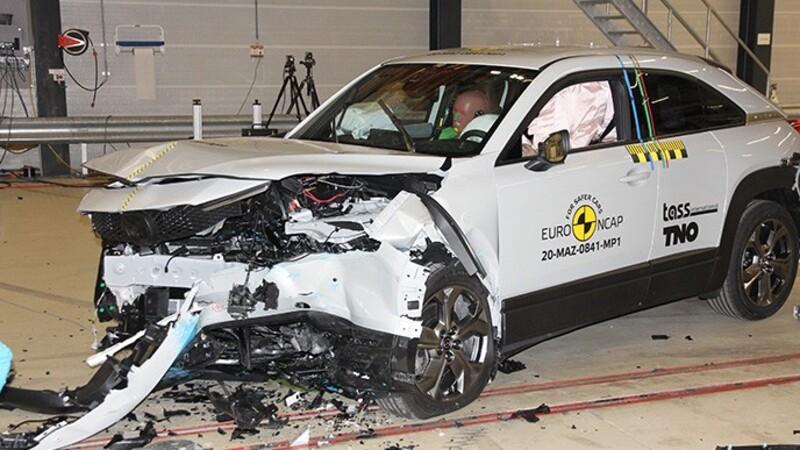 Mazda MX-30 recibe 5 estrellas de Euro NCAP por el alto nivel de seguridad que ofrece