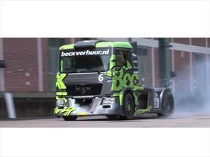 Video: Drifting en un camión