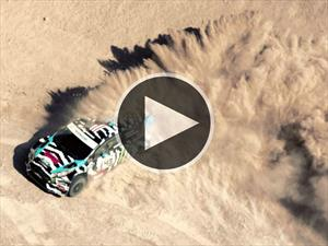Video: Ken Block driftea en el desierto de Utah