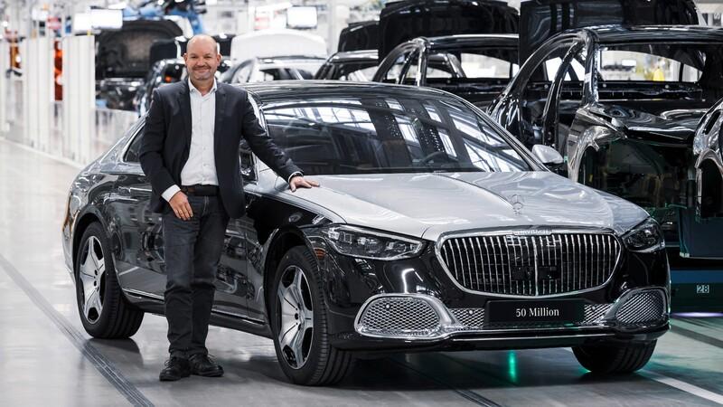 Mercedes-Benz llegó a los 50 millones de autos producidos a nivel mundial