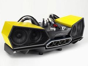 Lamborghini presenta sus parlantes estilo Aventador